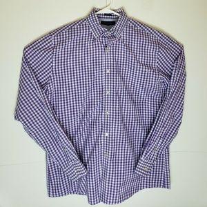 Tommy Hilfiger Purple Plaid Shirt